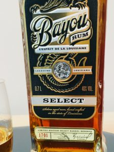 Bayou Select Rum Review by the fat rum pirate