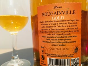 Rum Bougainville Gold Rum review by the fat rum pirate