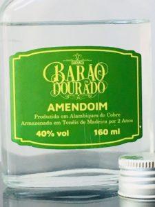 Cachaca Barao Dourado Amendoim Review by the fat rum pirate