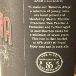 Cana Brava Reserva Aneja Aged 7 Years Rum Review by the fat rum pirate