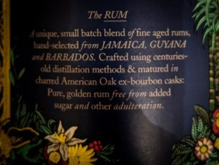 DIablesse Caribbean Rum review by the fat rum pirate