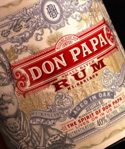 Don Papa No.7 Rum Review by the fat rum pirate