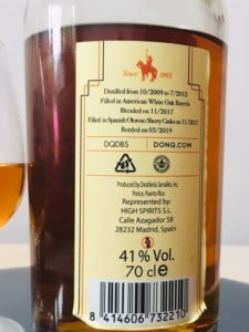Don Q Double Cask Finish Puerto Rican Rum Finished in Sherry Casks Rum review by the fat rum pirate