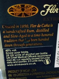 Flor de Cana 4 Extra Seco Rum Ron Review by the fat rum pirate