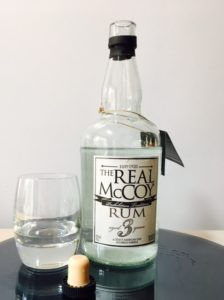 The Real McCoy Aged 3 Years Rum review by the fat rum pirate Foursquare