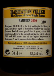 Habitation Velier Hampden HLCF Rum Review by the fat rum pirate