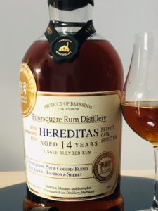 Hereditas Foursquare Rum Distillery rum review by the fat rum pirate