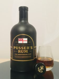 Pusser's Rum 50th Anniversary Rum review by the fat rum pirate