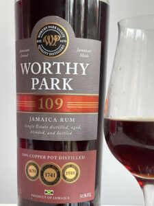 Worthy Park 109 Jamaica Rum Review by the fat rum pirate