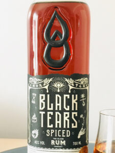 Black Tears Spiced Rum review by the fat rum pirate