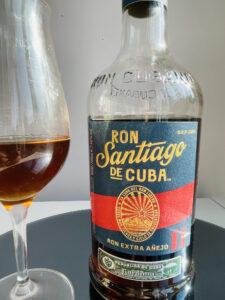 Ron Santiago de Cuba Ron Extra Anejo 11 Anos rum review by the fat rum pirate