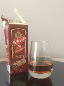 McDowell's No1 Celebration Deluxe XXX Rum review by the fat rum pirate