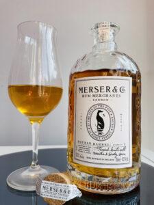 Merser & Co. Rum Merchants Double Barrel Rum Review by the fat rum pirate