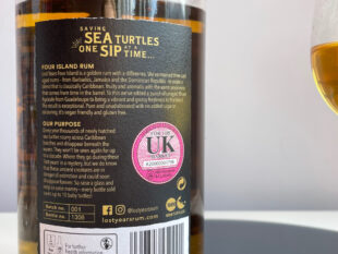 Lost Years Four Island Rum review by the fat rum pirate