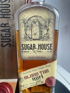 Sugar House Blood Tub Rum Vintage 2018 rum review by the fat rum pirate