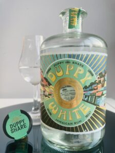 The Duppy Share Duppy White Jamaican Rum review by the fat rum pirate