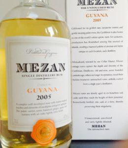 Mazan Guyana 2005 rum review by the fat rum pirate