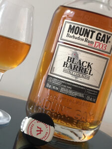 Mount Gay Black Barrel Double Cask Blend rum review by the fat rum pirate