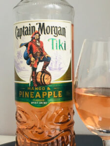 Captain Morgan Tiki Mango and Pineapple Rum Review by the fat rum pirate