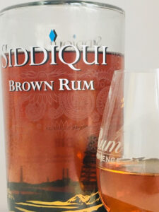 Siddiqui Brown Rum rum review by the fat rum pirate