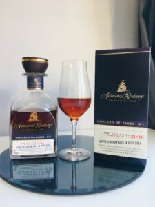 Admiral Rodney Officer's Releases No.1 - Port Cask Finish rum review by the fat rum pirate