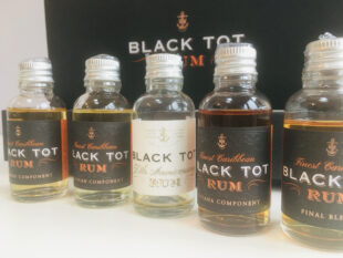 Black Tot 50th Annivesary Rum Review by the fat rum pirate