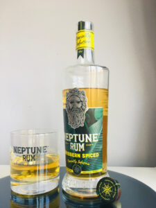 Neptune Rum Spiced Caribbean review by the fat rum pirate
