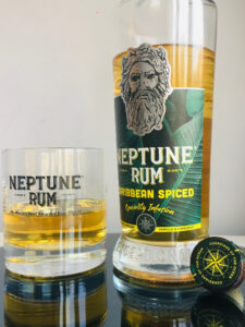 Neptune Rum Caribbean Spiced review by the fat rum pirate