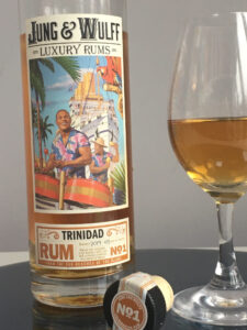 Jung and Wulff Luxury Rums No 1 Trinidad Rum Review by the fat rum pirate