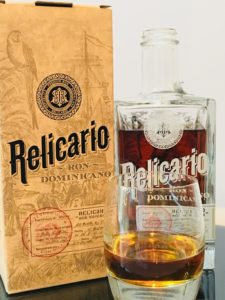 Relicario Ron Dominicano Rum Review by the fat rum pirate