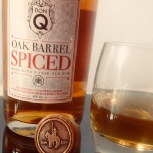 Don Q Oak Barrel Spiced Rum Review by the fat rum pirate