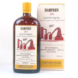 Habitation Velier Hampden 2010 HLCF Rum Review by the fat rum pirate