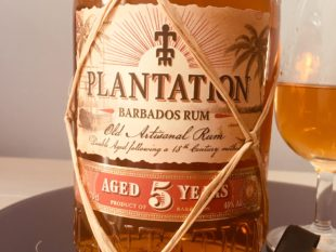 Plantation Barbados Rum Aged 5 Years Rum Review by the fat rum pirate