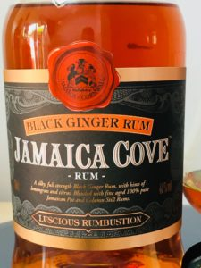 Jamaica Cove Black Ginger Rum Review by the fat rum pirate