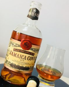 Jamaica Cove Black Pineapple Rum Review by the fat rum pirate