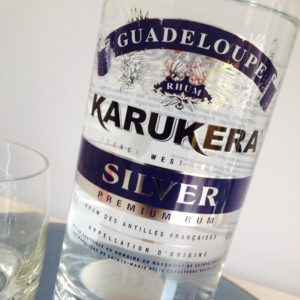 Karukera Silver Rum Review by the fat rum pirate