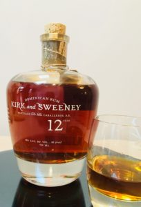 Kirk and Sweeney 12 Year Old rum Revew by the fat rum pirate