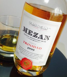 Mezan Trinidad 1999 Rum Review by the fat rum pirate