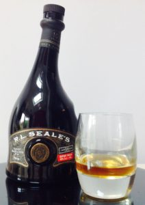 RL Seales 10 Year Old Finest Barbados Rum review by the fat rum pirate