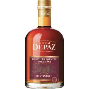 Rhum Depaz Rhum Vieux Agricole Hors D'Age Port Cask Finish review by the fat rum pirate