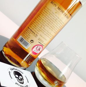 Ron Montero Gran Reserva Rum review by the fat rum pirate