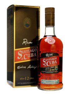 Ron Santiago de Cuba 12 Anos Extra Anejo Rum Review by the fat rum pirate