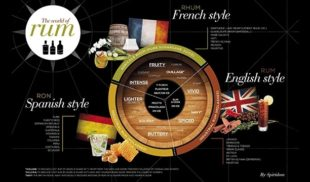 Rum Flavour Map