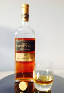 Rum Sixty Six Cask Strength 12 Year Old Rum Review by the fat rum pirate
