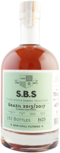 S.B.S – The 1423 Single Barrel Selection Brazil 2013/2017 rum cachaca review by the fat rum pirate