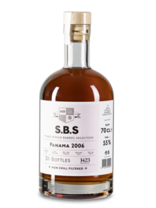 S.B.S The 1423 Single Barrel Selection Panama 2006 Rum Review by the fat rum pirate