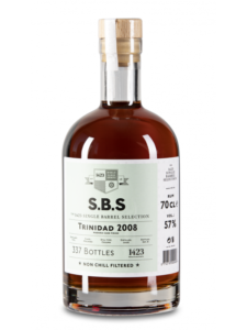 S.B.S - The 1423 Single Barrel Selection Trinidad 2008 rum review by the fat rum pirate