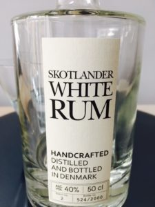 Skotander White Rum Review by the fat rum pirate