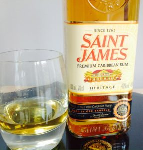 Saint James Heritage Rum Review by the fat rum pirate