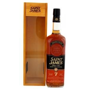 Saint James Rhum Vieux 7 Year Old Rum Review by the fat rum pirate